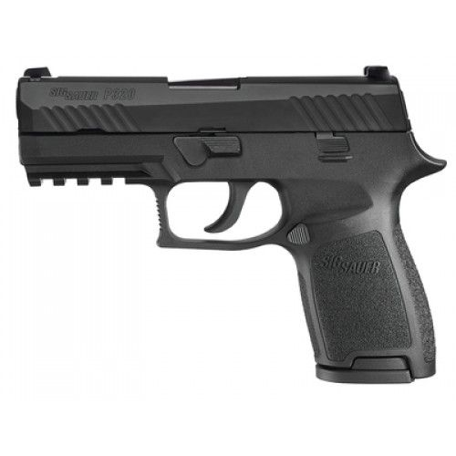 Sig Sauer P320 Compact Black 9MM 3.9-inch 15Rds