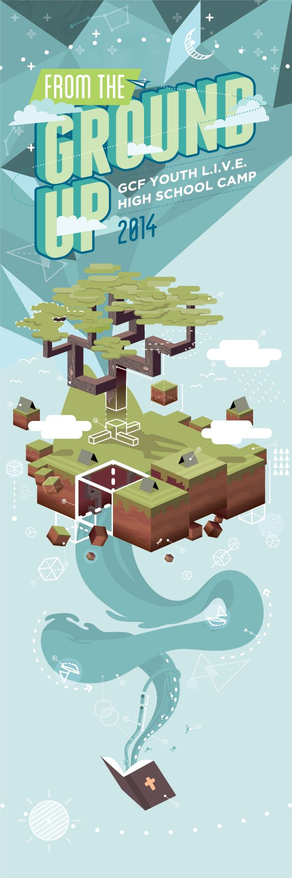 From the Ground Up - Key Visuals on Behance