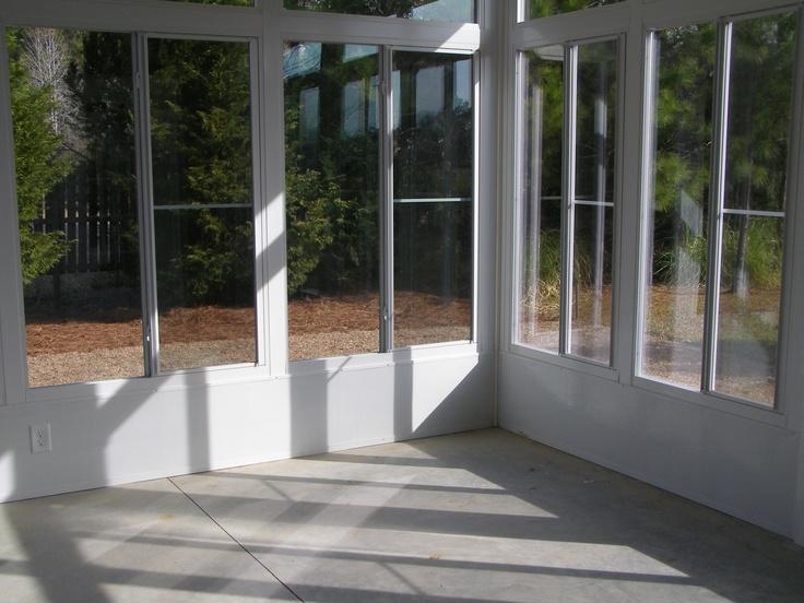 Update screened patio with glass - #sunrooms http://www.brunswickplantation.com