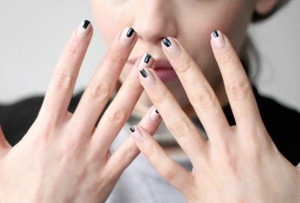 17 Hermosos estílos de uñas MINIMALISTAS que debes intentar. ¡Son muy fáciles de hacer! ⋮ Es la moda
