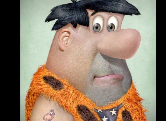 Realistic Drawings Of Animated Characters