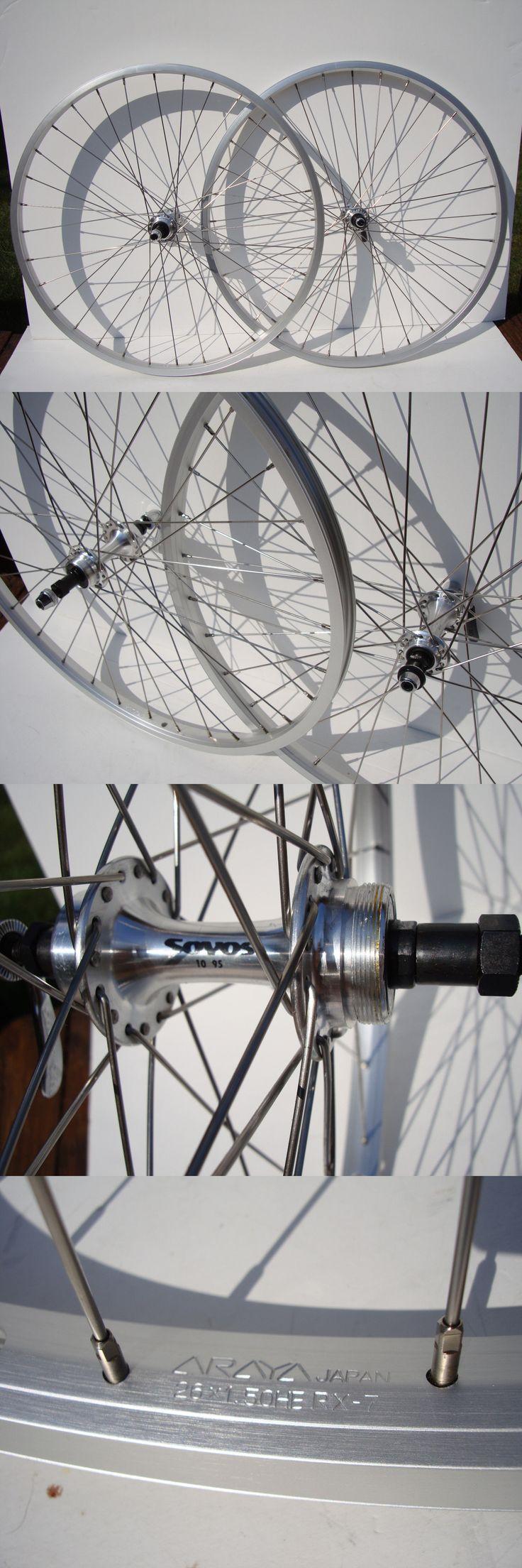 Vintage Bicycle Parts 56197: Nos Araya 26 Wheels Schwinn Trek Mtb Bike Cruiser Bicycle 5 6 7 8 Spd Vtg Fuji -> BUY IT NOW ONLY: $165.0 on eBay!