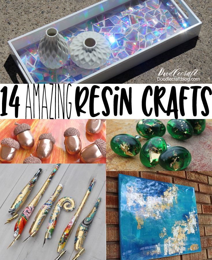14 Amazing Resin Craft Projects Projects To Try Resin Crafts
