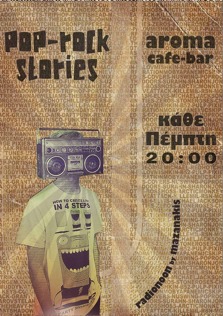 poster for dj residency