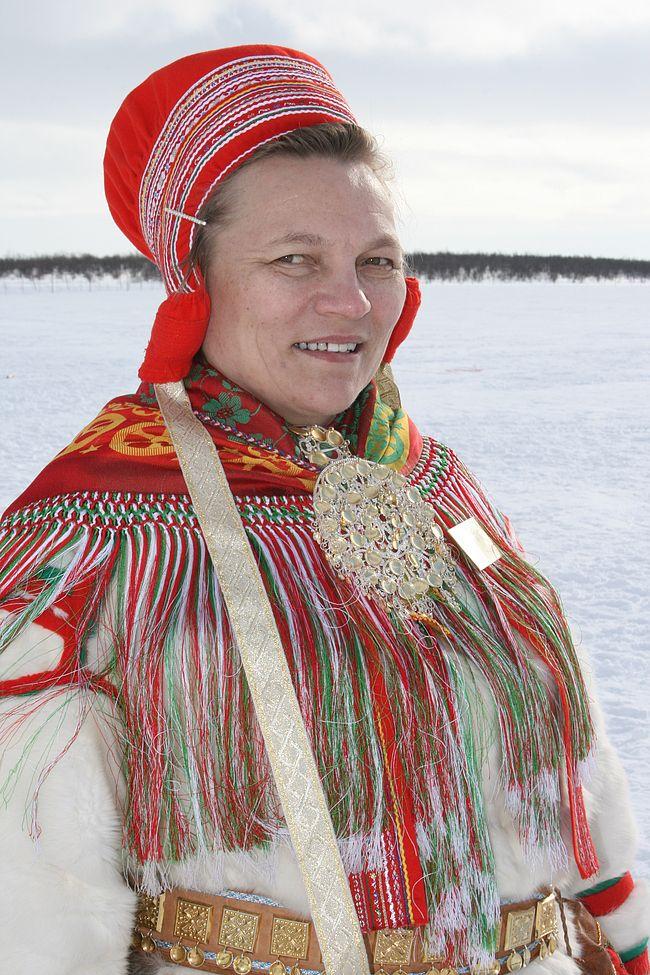 Eira Buljo is head of the network of Sami reindeer herders women