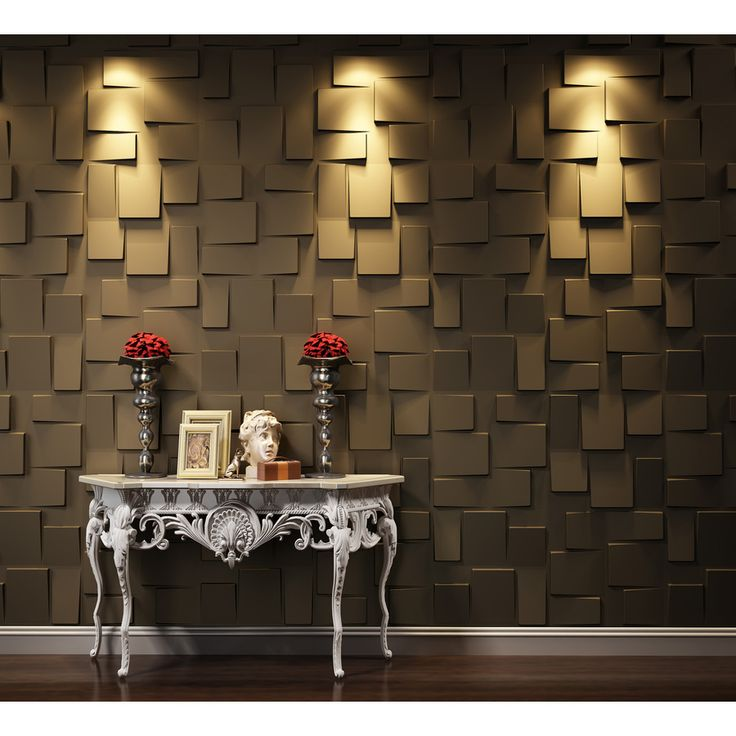 Threedwall Threedwall 1 63 In X 1 63 Ft Embossed Off White