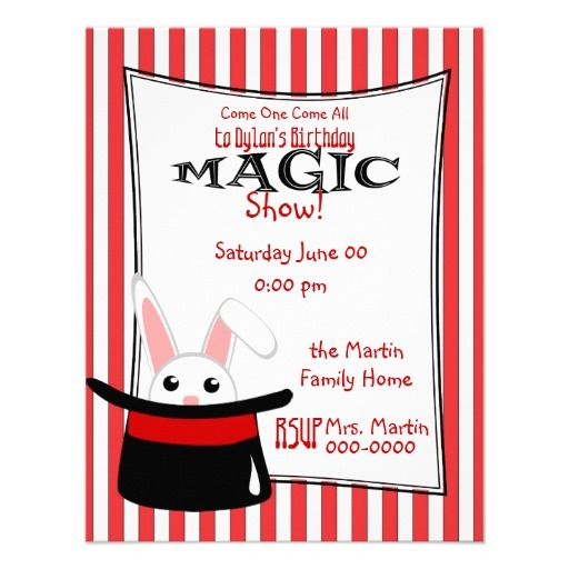 20 best magic show birthday party invitations images on pinterest magic show announcements a cute new invite and party theme from the shy socialittles stopboris Images