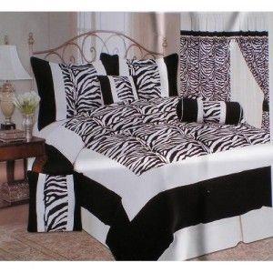 black and white / zebra stripes