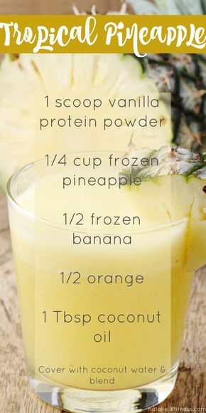 Feel tropical year around this this delicious and healthy smoothie! Click the image for more recipes. http://juicerblendercenter.com/category/juicer-and-blender-information
