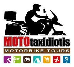 Logo design for Mototaxidiotis (http://mototaxidiotis.blogspot.gr/)