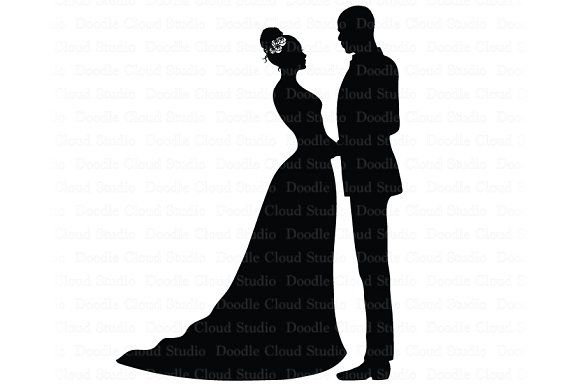 32+ Bride and groom clipart svg ideas in 2021