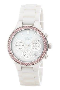 Women's White Ceramic Watch