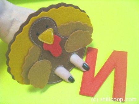 Индюк пальчиковая игрушка Азбука из фетра алфавит выкройки