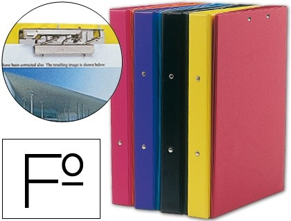 Carpeta Liderpapel 4 anillas 40 mm redondas plastico folio con miniclips colores frosty surtidos  http://www.20milproductos.com/catalog/product/view/id/19771/s/carpeta-liderpapel-4-anillas-40-mm-redondas-plastico-folio-con-miniclips-colores-frosty-surtidos/category/2/