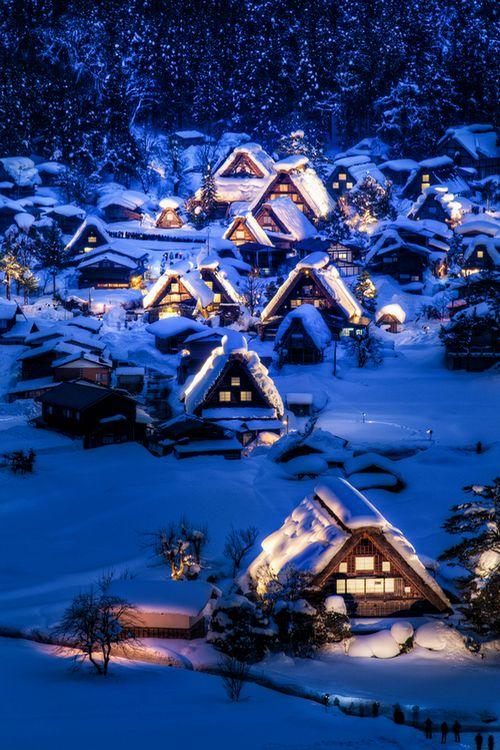 wonderous-world: Shirakawago, Japan by Agustin Rafael Reyes