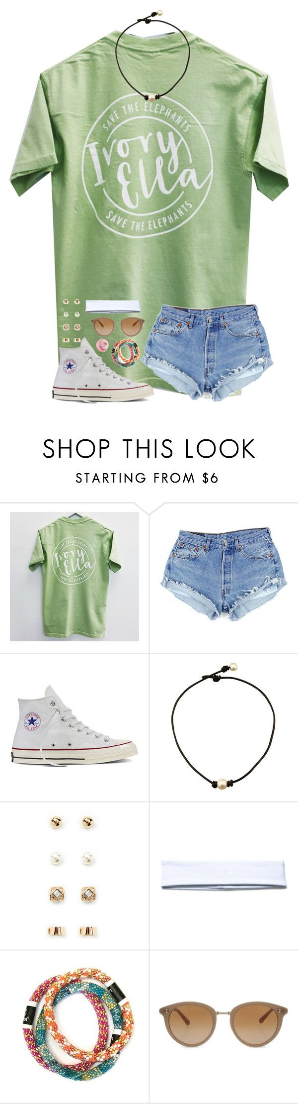 """Auditions open for @preppy-gals"" by mmprep ❤ liked on Polyvore featuring Converse, Forever 21, Under Armour and Oliver Peoples"