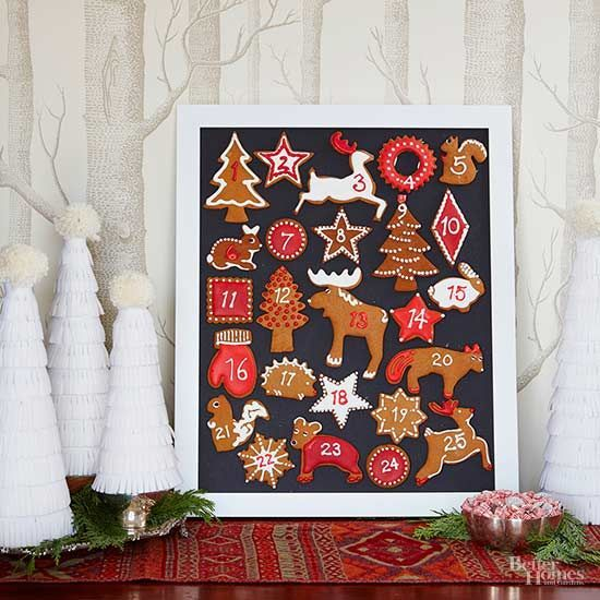 Treat the kids to a gingerbread Advent calendar in a few quick steps. This adorable, oh-so-easy how-to gives you the low-down./