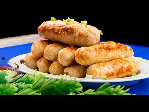 Crenvurști de casă din carne de pui. O rețetă simplă și sănătoasă ce merită încercată! - Savuros.TV
