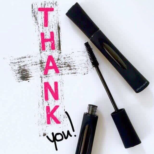 Thank you for your Younique order!! You're going to LOVE those 3D fiber Lashes ❤️