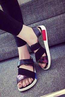 Trouver plus Sandales pour hommes Informations sur Amoureux chaussures 2016 d'été de mode casual en cuir sandale haute qualité raffiné à coudre chaussures polyvalent unisexe chaussures, de haute qualité à partir de Sandales pour hommes kitty  angle sur Aliexpress.com