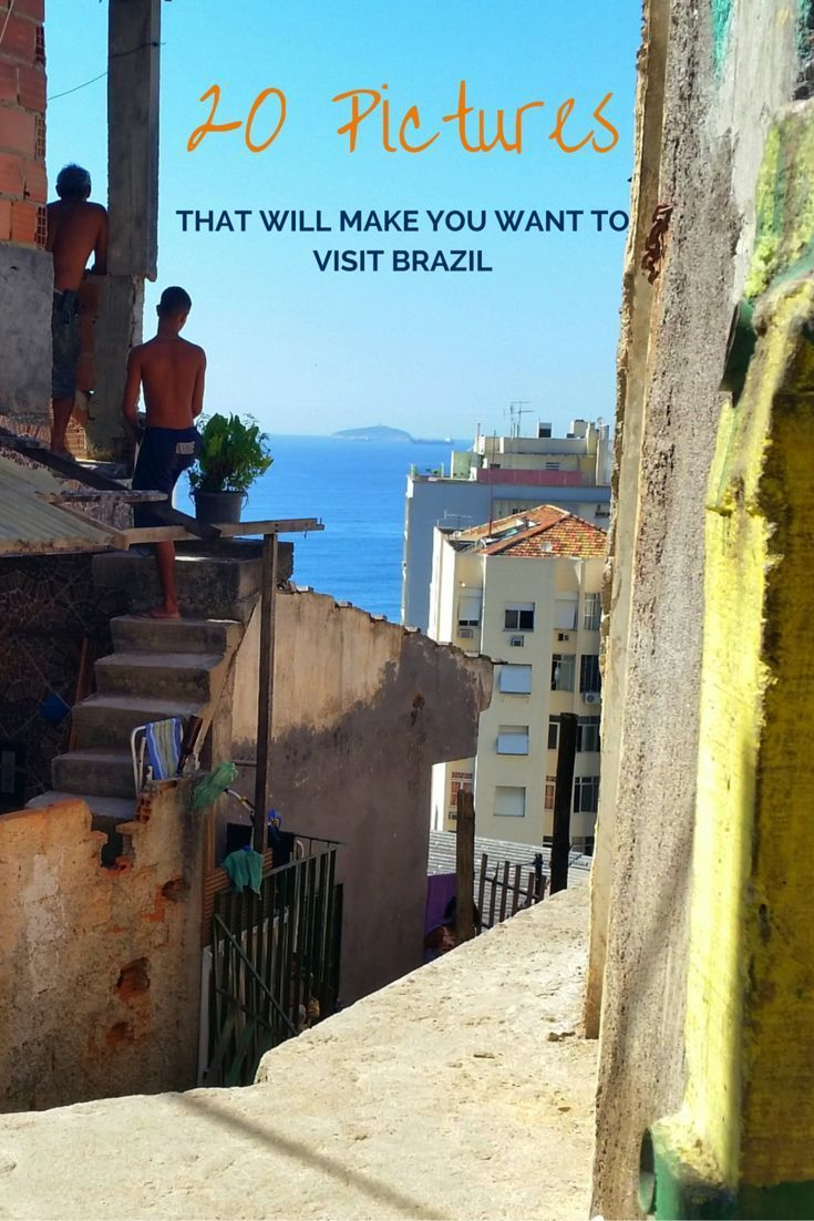 If all the tv shows, magazines and adverts haven't made you want to visit Brazil enough already, here are 20 pictures we've captured during our time here that will make you want to book your ticket, pack your bags and take off for the land of Samba!