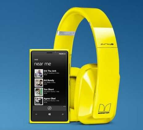 Nokia Lumia 920 cuffie Wireless BH-940 : Cuffie Dolby surround Stereo wireless Purity Pro