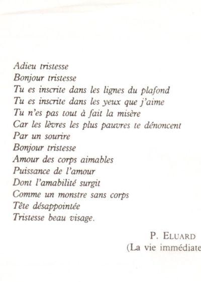 Paul Éluard . Bande à part