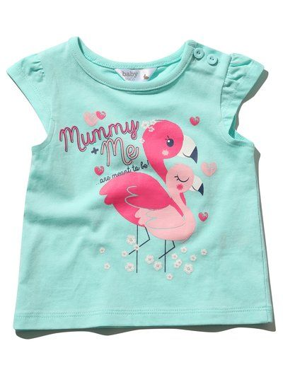 70e62fa3 Flamingo Print T-Shirt | M&Co #mandco #flamingo | My Girl | Toddler ...