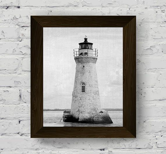 lifeguard tower, black and white photography, coastal wall art, beach prints, printable artwork, instant digital download
