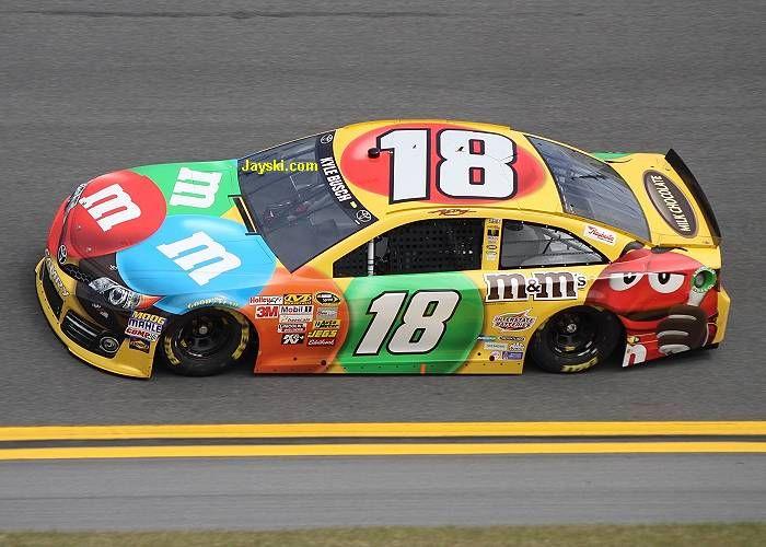 kyle busch love all his candy cars - Kyle Busch Halloween Car