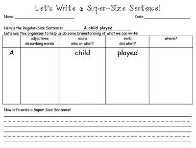 Writing a descriptive sentenceIdeas, Classroom, Education Writting, Descriptive Sentence, Schools, Education Writing, Languages Art, Language Writting, 2Nd Grade