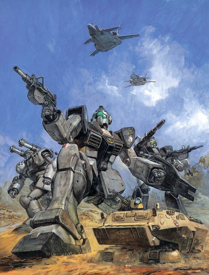 機動戦士ガンダム外伝 コロニーの落ちた地で - 高荷義之 | Gundam Sidestory 0079 - Rise from the Ashes by Yoshiyuki Takani *