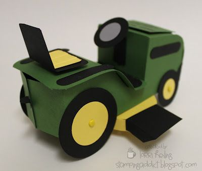 RIDING Lawn Mower :: Confessions of a Stamping Addict Tutorials for sale