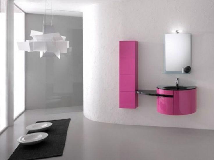Pinkes badezimmer ~ Die besten rosa minimalistische badezimmer ideen auf