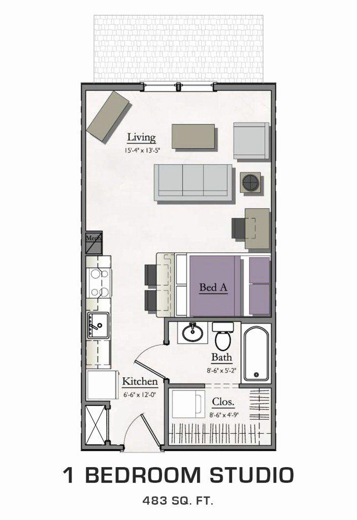 Studio Apartment Vs One Bedroom Best Of 1 Bedroom Studio Loft Near Michigan State In 2020 Apartment Layout Bedroom Studio Studio Apartment Layout