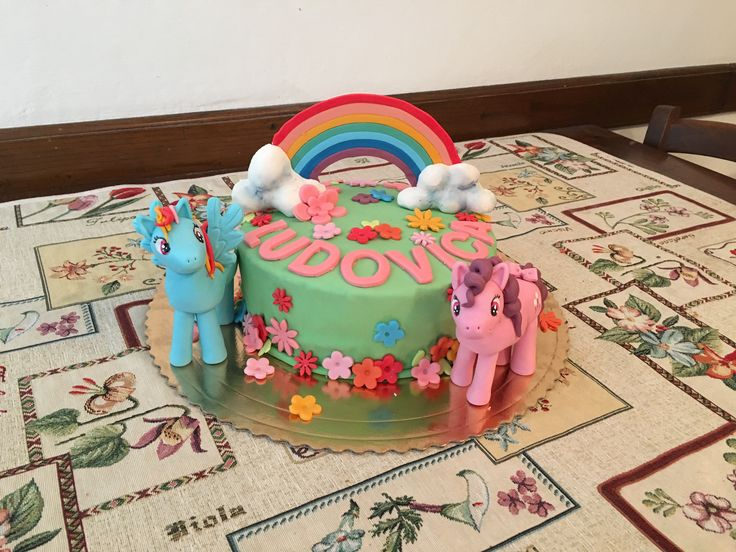Little pony cake 💕
