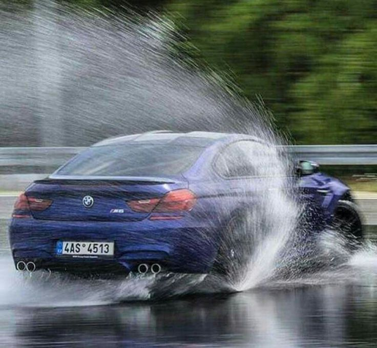 BMW F13 M6 Purple Rain Powerslide