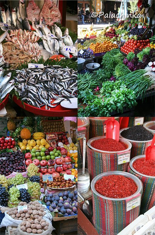 Blog entry about street food from Istanbul