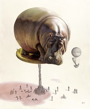 Ricardo Solis Art: Fragile Balance