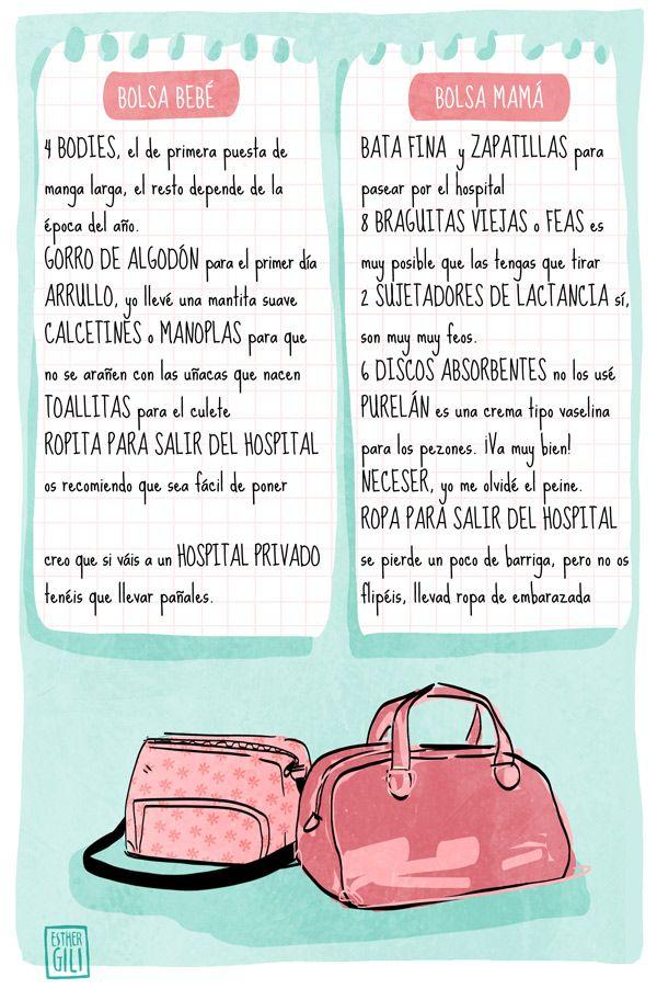 BOLSAS PARA EL HOSPITAL | 39 semanas