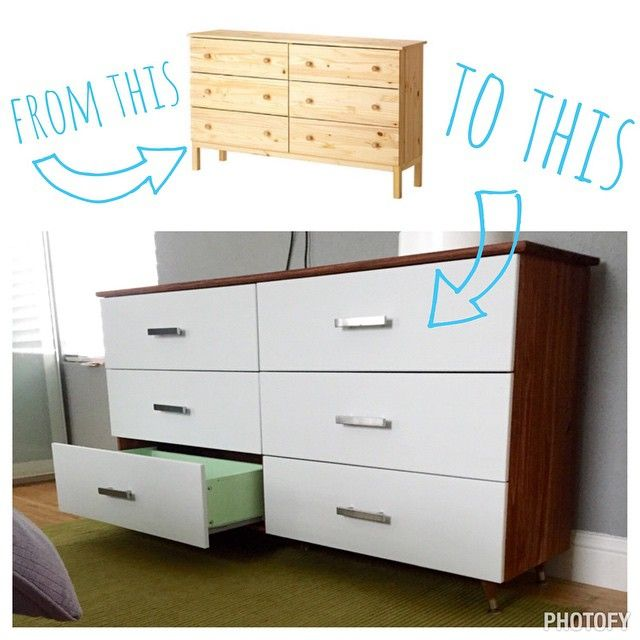 Ikea Faktum Legs Installation ~ IKEA Tarva hack with mid century modern style legs Lots of hard