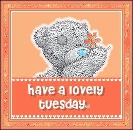 Tuesday - Tatty Teddy Bear