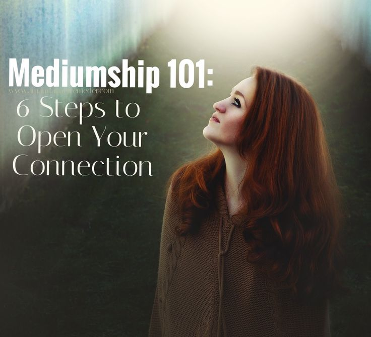 Mediumship 101: 6 Steps to Developing Your Connection — Amanda Linette Meder  https://occu.info/what-is-a-psychic-reading/