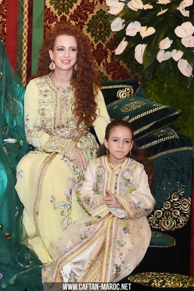 L-R : Morocco's King's wife Lalla Salma and daughter Lalla Khadija attend the henna ceremony, as part of Royal Wedding of celebrations Prince Moulay Rachid and Miss Oum Keltoum Boufares, at the Royal Palace in Rabat, Morocco, on November 13, 2014. Photo by Balkis Press/ABACAPRESS.COM