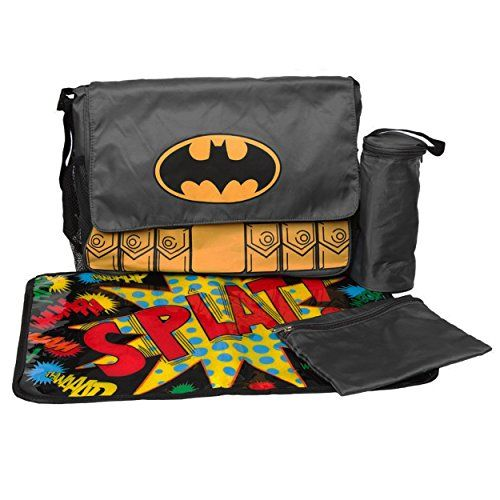 Batman Messenger Diaper Bag Set DC Comics http://www.amazon.com/dp/B00R52I5BC/ref=cm_sw_r_pi_dp_7oFKub0YWNR8H
