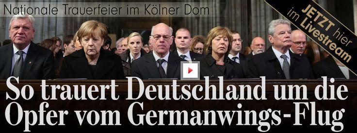 150 Kerzen erinnern an die Opfer des Germanwings-Absturzes http://www.bild.de/regional/koeln/flug-4u9525/trauerfeier-dom-germanwings-flug-4u9525-40582540.bild.html
