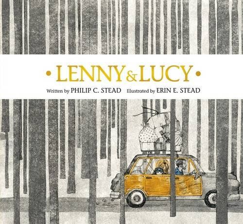 MOCK CALDECOTT SPRING 2016: Lenny & Lucy, illustrated by Erin Stead - MAIN Juvenile - PZ7.S8082 Le 2015 - check availability @ https://library.ashland.edu/search/i?SEARCH=9781596439320