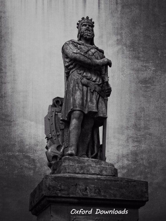Robert The Bruce Stirling Scotland Print by OxfordDownloads