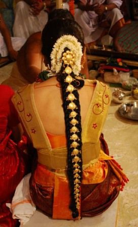 Pics For U003e South Indian Bridal Hairstyles For Medium Hair