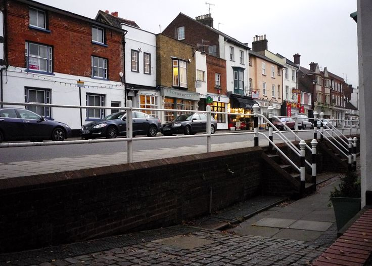Hemel Hempstead Old Town - just up the road from us opposite the Pie In The Sky filming location